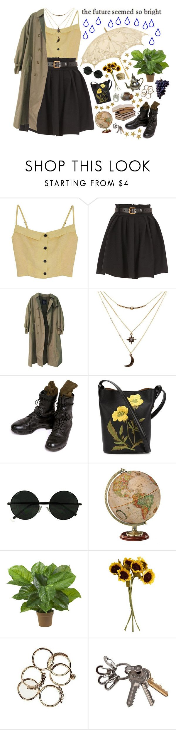"""""""Lissoms (tag)"""" by purpleghost ❤ liked on Polyvore featuring Preen, Burberry, Charlotte Russe, MOSAIK, STELLA McCARTNEY, Nearly Natural, John Lewis and living room"""