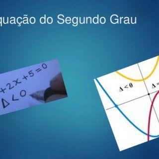Equação do Segundo Grau   Equação do Segundo Grau Definimos equação do segundo grau na incógnita x a toda equação que pode ser escrita na forma reduzida :. http://slidehot.com/resources/aula-winplot.42754/