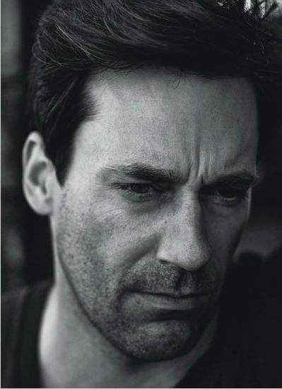 You have excellent hair, John Hamm.