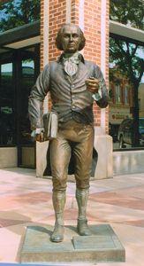 James Madison - Fourth President of the United States (1809-1817) Corner of 7th St. & Saint Joseph St.