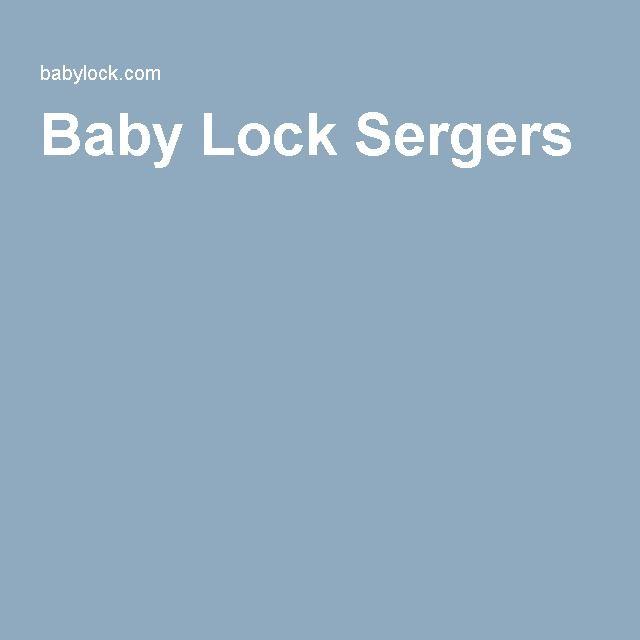 Baby Lock Sergers