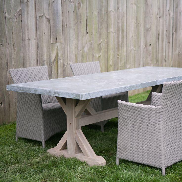 1000 images about Zinc top furniture on Pinterest