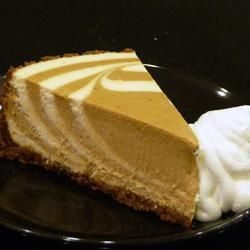 PHILADELPHIA Pumpkin Swirl Cheesecake Recipe - Allrecipes.com