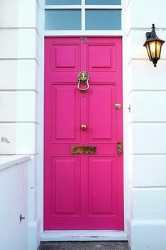 Scrapbook: Red Doors, The Doors, Hotpink, Bright Pink, Front Doors, Hot Pink, Neon Pink, Pink Doors, Doors Knockers