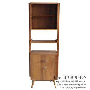 Skandin Jengki Rack is a #scandinavia #retro bookshelf design by Jegoods Woodworking Indonesia. Handcrafted teak retro scandinavia vintage Jepara furniture Indonesia at factory price.