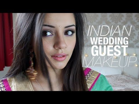 This Look Is So Perfect Now Just To Learn How Do It Well Enough Wedding Guest Makeup LooksIndian