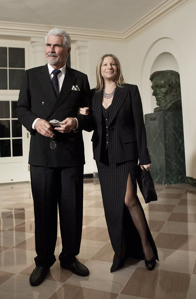 Barbra Streisand James Brolin Photos: Guests Arrive At State Dinner For Chinese President Hu Jintao At White House