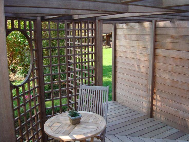 Notre travail en images, terrasse, pergola, pool house, abris de jardin - Mon jardin à toi