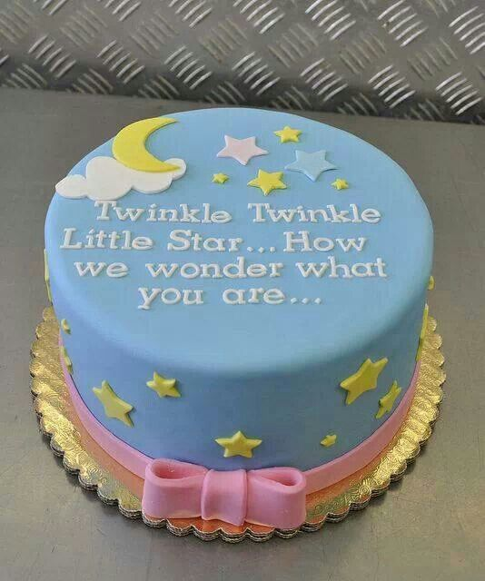 Cute none gender specific cake