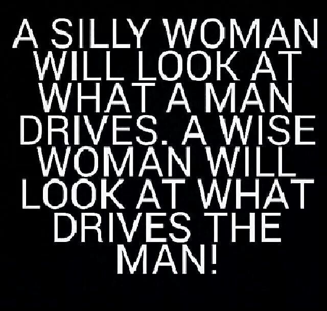 AMEN! If you get with a man based on his $ $$$$ well then sista you deserve what you get!