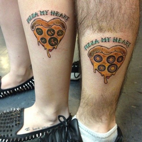 Best 25 Pizza Tattoo Ideas On Pinterest: 99 Best Couples Tattoos Images On Pinterest