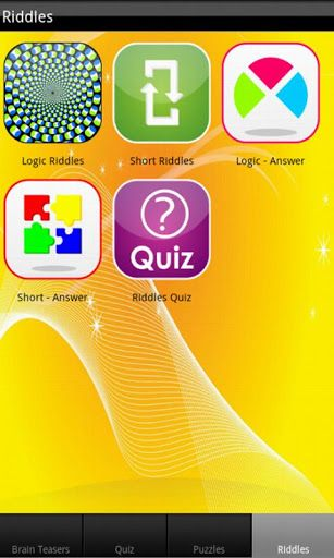 This app is a collection of brain teasers, puzzles, riddles, games and optical illusions. This features brain training delights such as puzzles, jigsaws, mazes, logic and mind riddles, brain teasers and so much more. There's Common Answers and so many games to play, you could be here for days! All the brain teasers and math puzzles are interactive with immediate scoring to provide continuous learning and entertainment. <br>If you want to test your logic skills and have fun, then this is the…