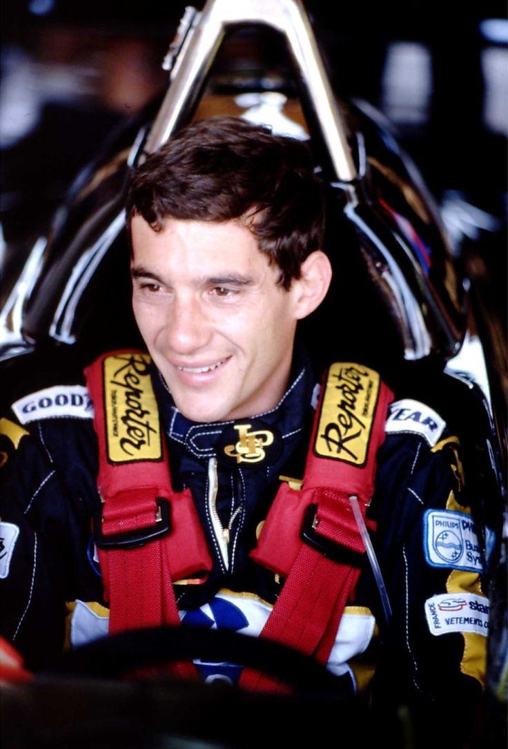 Ayrton Senna - F1 god