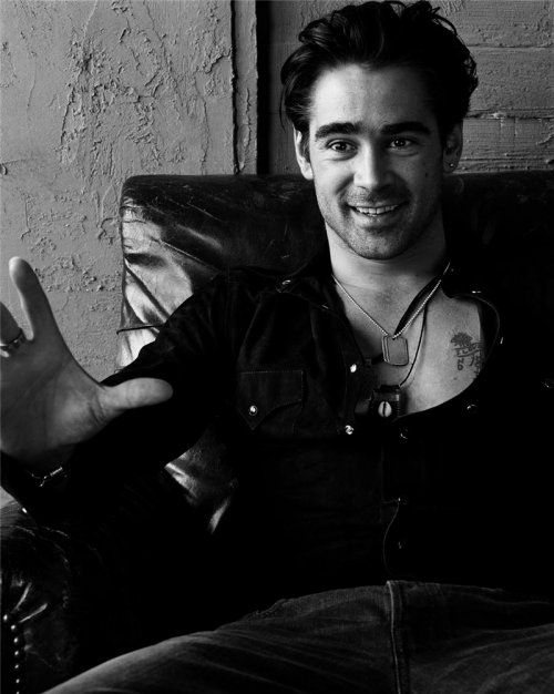 """Wish he hadnt dropped th """"O"""" from Farrell ...colin farrell"""