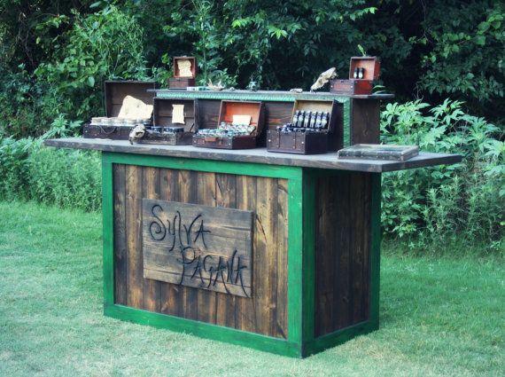 Trade Show Rustic Custom Table Farmhouse Furniture