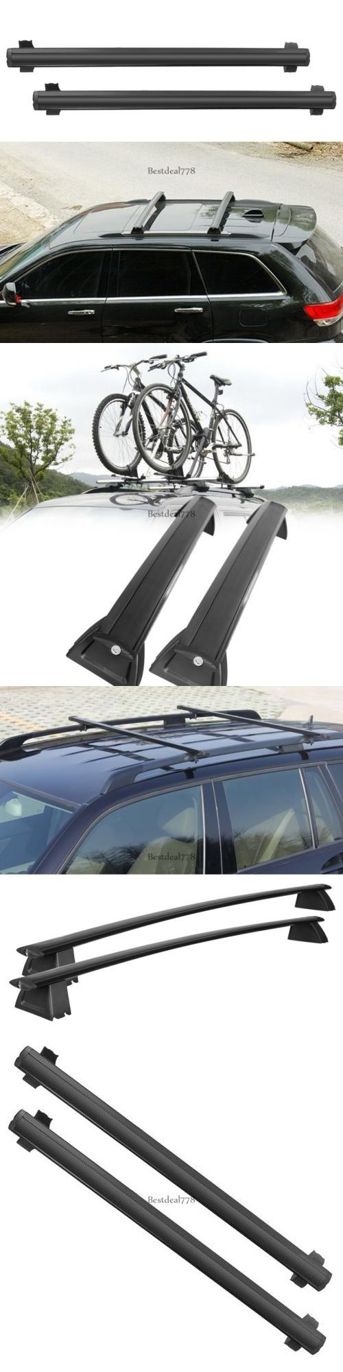 Other Kayak Canoe and Rafting 36123: Black Car Top Aluminum Cross Bar Roof Cargo Luggage Rack Btl802 -> BUY IT NOW ONLY: $80.62 on eBay!
