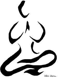 drawing  yoga meditationvalerie felice  meditation