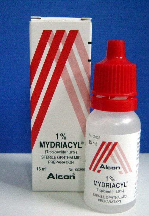 mydriacyl-Tropicamide