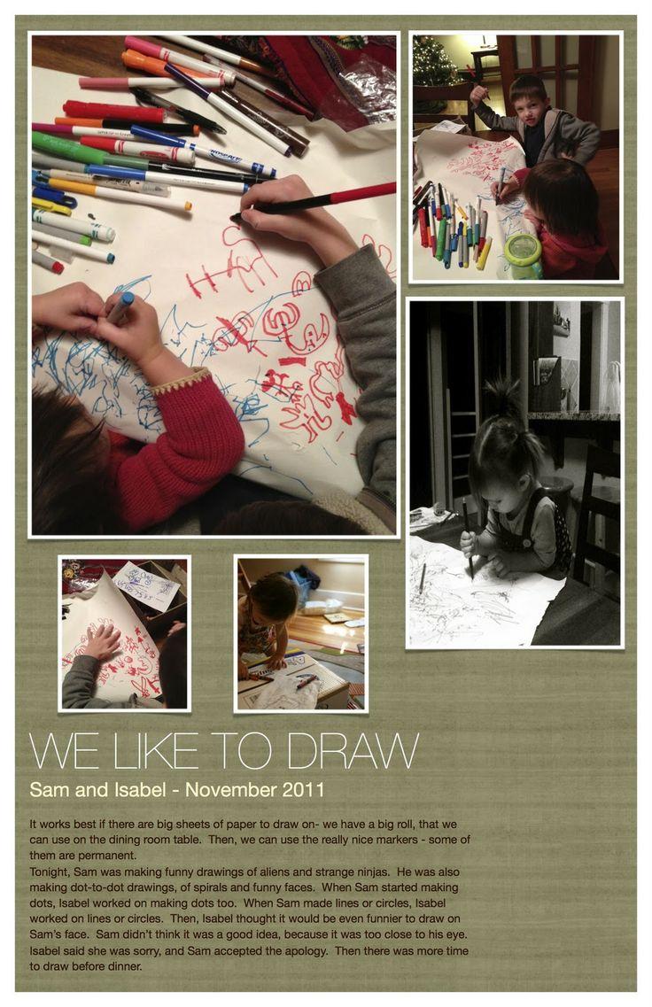 Documentation Day 26 - Volcanoes and Drawing | Yo-Yo Reggio!
