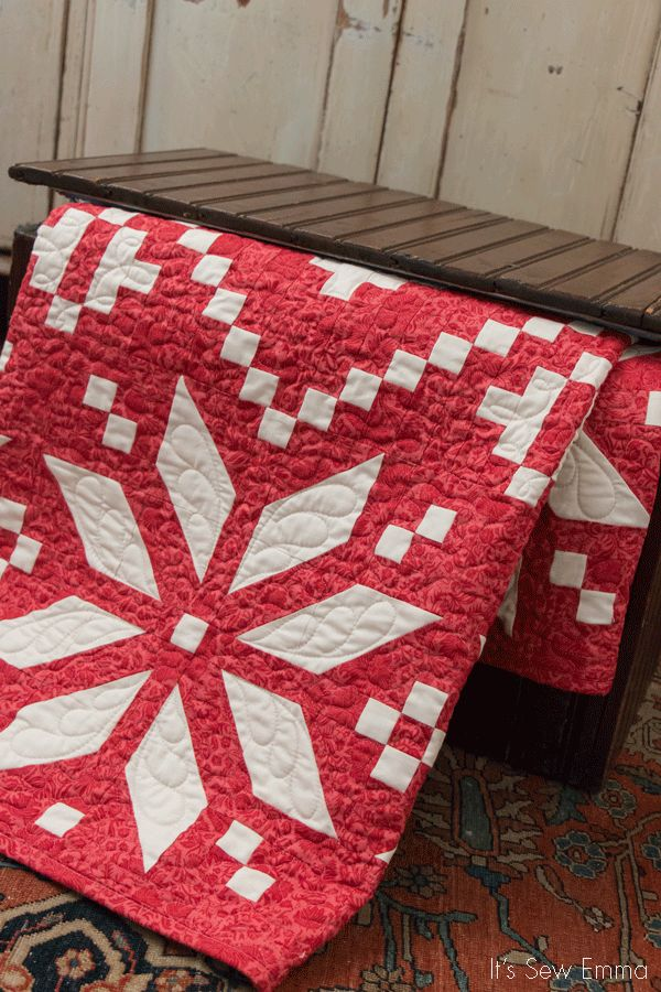 Let it sew, let it sew, let it sew! We're getting a jump on Christmas this year with Sherri Falls's new  Winter Wonderland , her new book o...