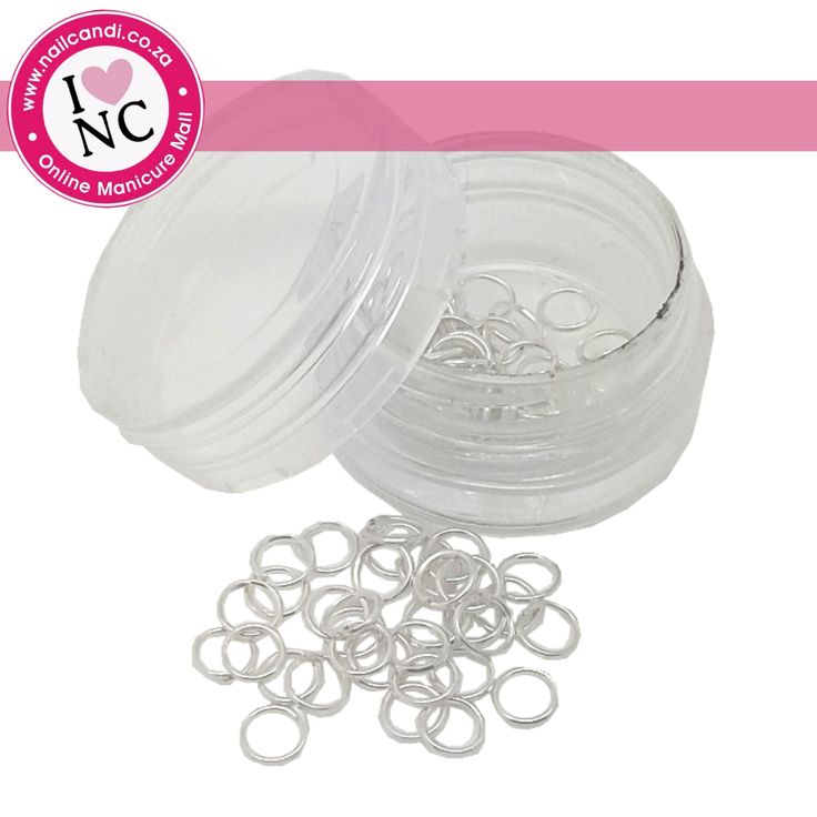 Piercing Rings - tub of approximately 100 rings