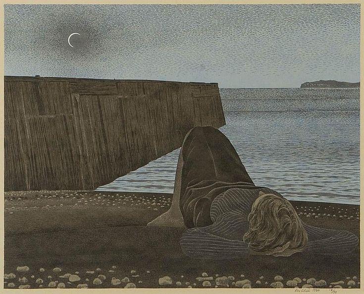 Alex Colville - New Moon (1980)