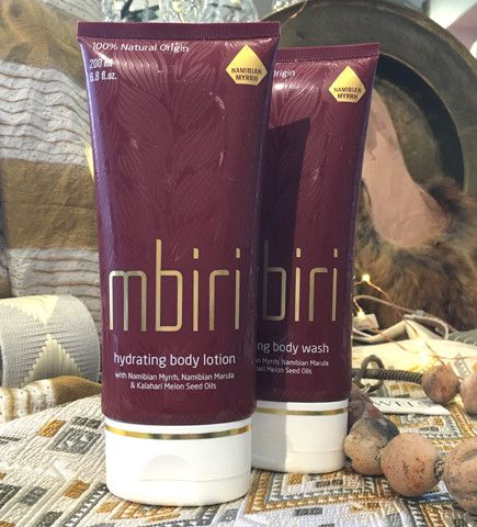 Wild Myrrh is only found in Namibia. It's clean fresh scent is just right, neither too fragrant nor too passive. Mbiri Shower Gel at @ibumovement