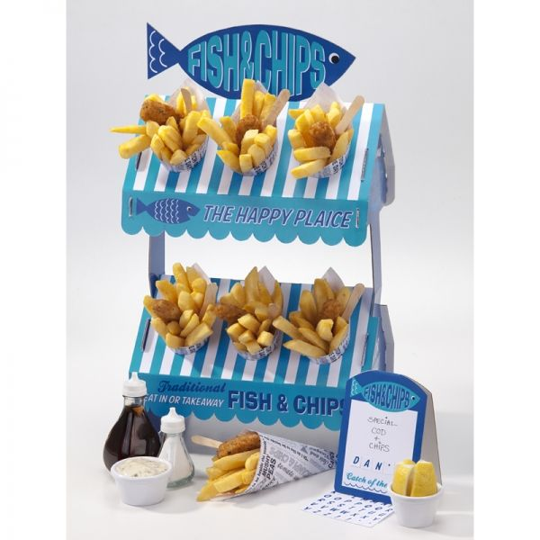Fish and Chip Stall