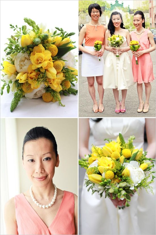 hair style wedding party 38 best yellow wedding ideas images on bridal 5402 | 8dcb04a6bb6b723fa1e5402a405fc0b6 yellow wedding flowers yellow weddings
