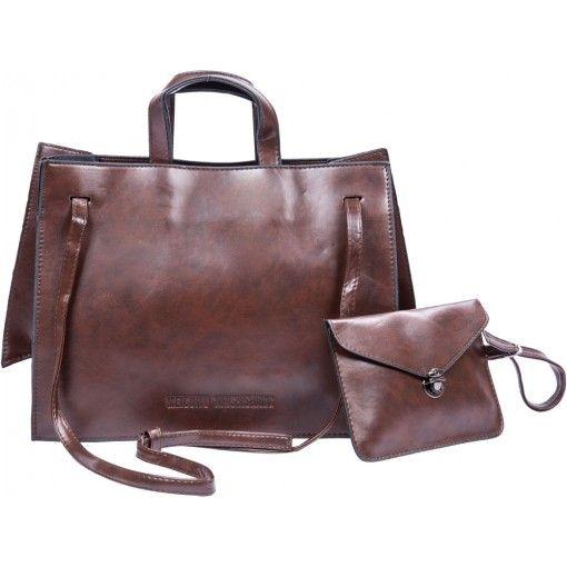 APE Leatherite 2 Pack Women's Handbag - Red