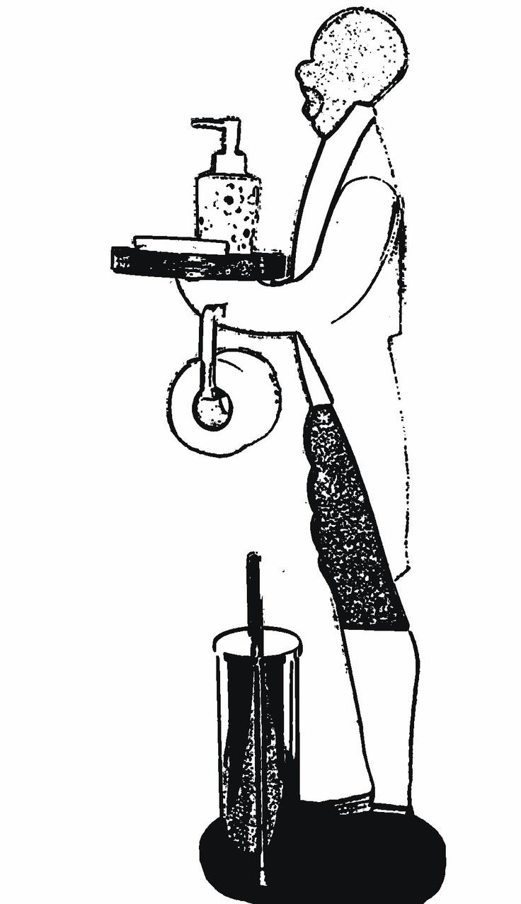 ACCESSORIO BAGNO    mod: gospel    Il  PORTA ACCESSORIO Gospel è un idea geniale.    Arreda, colora e arricchisceil la tua stanza da bagno rendendola unica.     Dotato di: vassoio portasapone,  gancio porta rotolo e piano porta scopino.    dimensioni :  altezza 100 cm                            larghezza 35 cm                            vassoio  20 * 26 cm
