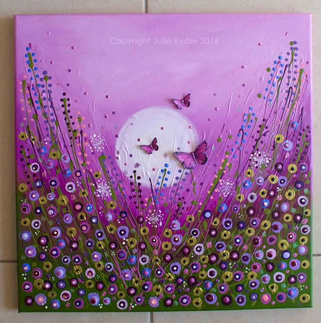 Made-By-Me....Julie Ryder: Butterflies and a flower meadow.