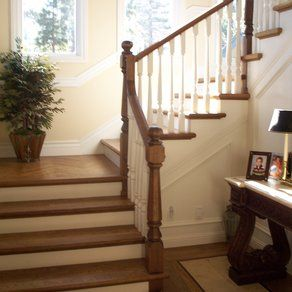 A Classic Traditional Staircase by Dana & Kathy Ayler