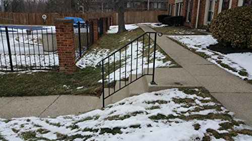 Best Diy Iron X Handrail Picket 3 Fits 3 Or 4 Steps Iron X Handrail Diy Installation Outdoor 640 x 480