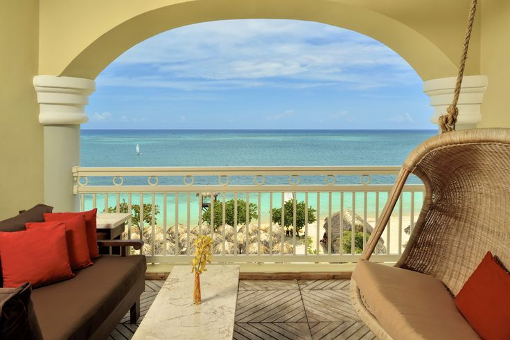 Iberostar Grand Hotel Rose Hall - Jamaica. Stayed in a room just like this when I was there last week. What an amazing view!