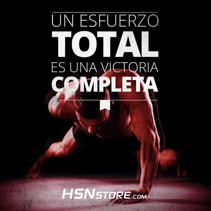 Un esfuerzo total es una victoria completa fitness for Gimnasio total