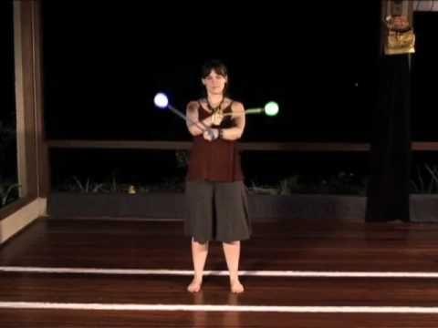 Beginner Poi Spinning Tutorial: Threading the Needle