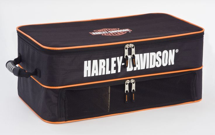 Harley-Davidson® | 99615 | Harley-Davidson® Luggage Travel Locker Organizer Black