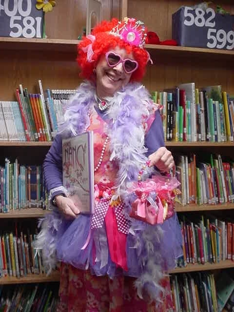 Fancy Nancy Adult Costume