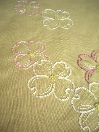 Harujion Design: Embroidery / My favorite tree flower