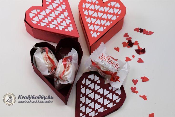 Ma a Sizzix Thinlits - Heart Box vágósablonjával készítettem egy kis összefoglaló inspirációt. Tartsatok velem!