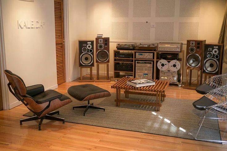 Vintage Pioneer setup with HPM's.