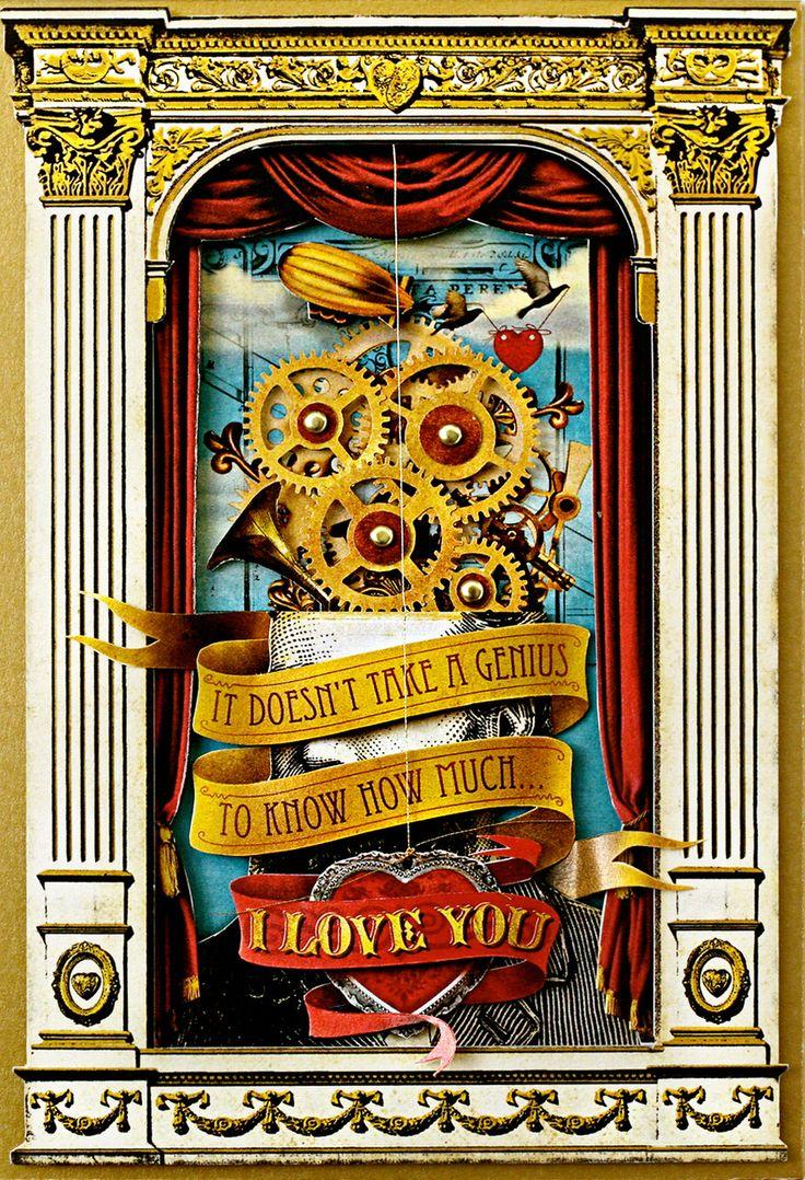 Steampunk Valentines Cards Google Search Steampunk