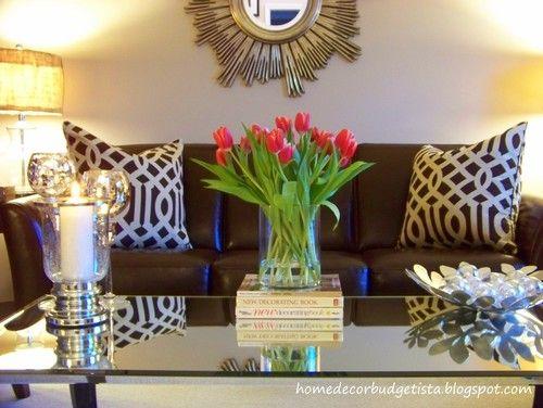 I Like The Piilows From Home Decor Budgetista: Home Tour   Living Room