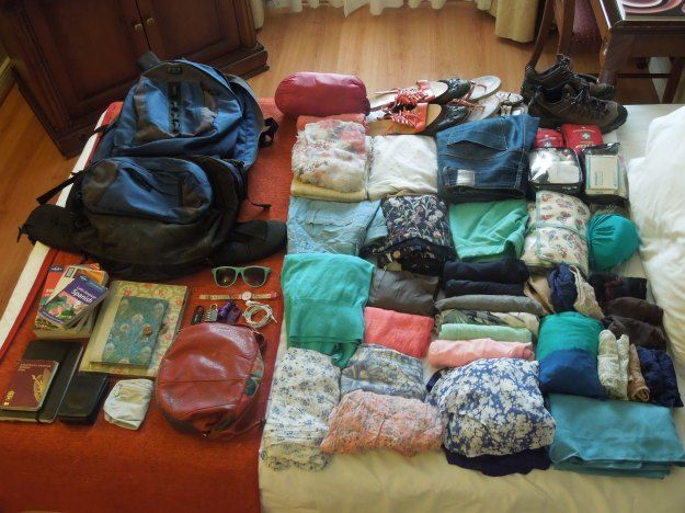 Packing list for three months in South America: what to bring and what not to bring - Anna S E Lundberg