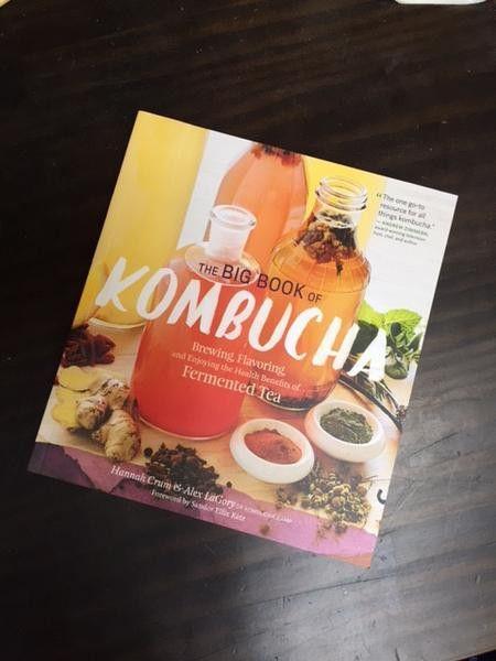 The Big Book of Kombucha | Hannah Crum & Alex LaGory | Don Tolman International