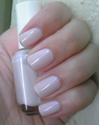 Polish or Perish: A Cool Polish for a Hot Day: Essie Minimalistic. What I have on right now!!