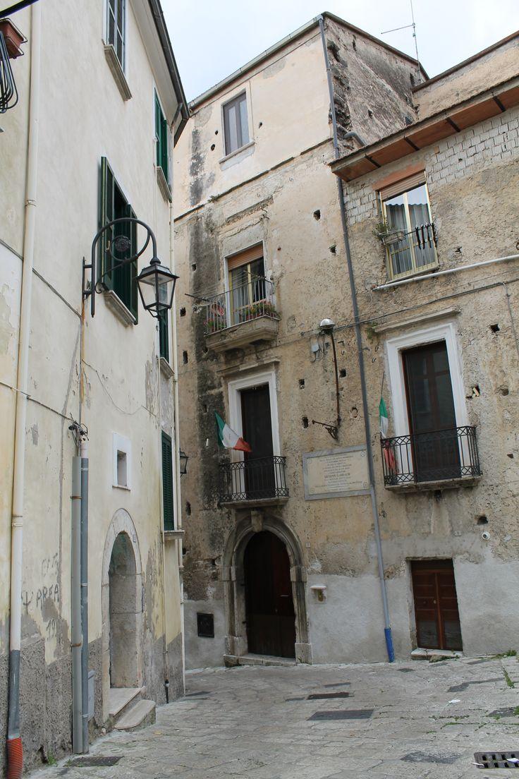 Palazzo La Francesca #Eboli Ivi soggiornò Giuseppe Garibaldi nel corso della sua marcia verso Napoli.