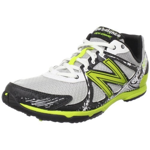 New Balance RX507RG Cross Country Running Spike,White/Green,7 D US New