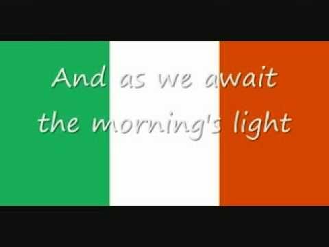 YouTube Irish National Anthem In Gaelic & English